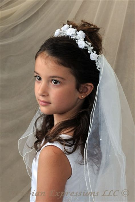 girls hairstyles for first holy communion first communion hairstyles first communion crown veils