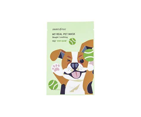 Innisfree My Real Pet Mask Sheet innisfree my real pet mask beagle canada usa mikaela