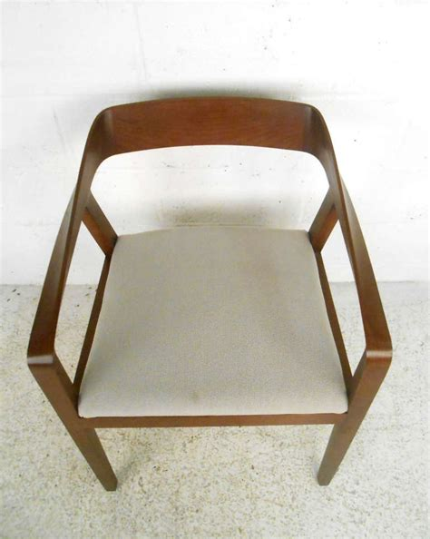 mid century modern full twist guest chair  herman miller  sale  stdibs