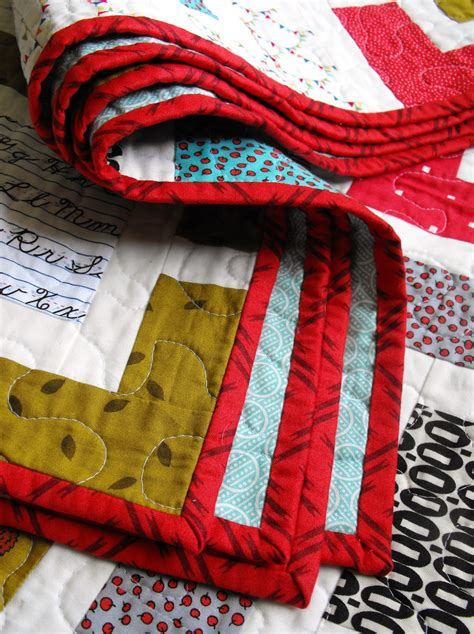 Sewing Binding On A Quilt by Sewn Binding Tutorial