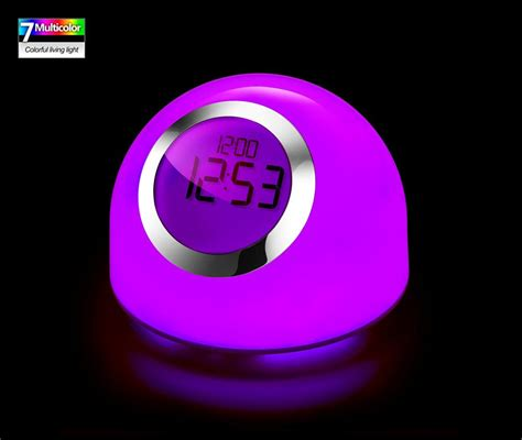 color changing light table color changing table l clock bedside l decoration l
