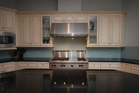 glass backsplashes for kitchens pictures river glass