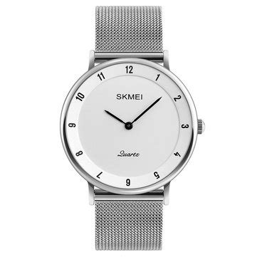 Skmei Casual Stainless Water Resistant Limited 4 skmei 1264 casual style ultra thin stainless steel wristband quartz movement at