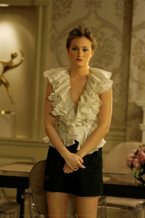 She Said It Haute Gossip 4 by Blair Waldorf Style Gorgeous Blouse But A Low