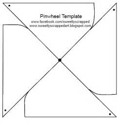Pinwheel Template by Sweetly Scrapped Make Your Own Pinwheels Diy Template