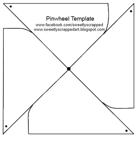 printable pinwheel template early play templates make a pinwheel printables and tutorials