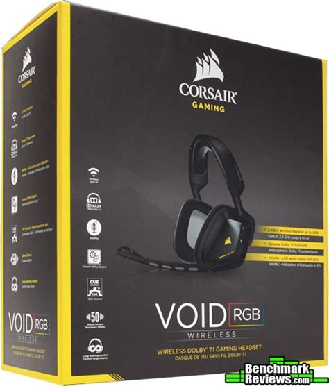 Sale Corsair Void Special Edition Yellowjacket Wireless Dolby 7 1 corsair void wireless dolby 7 1 gaming headset review
