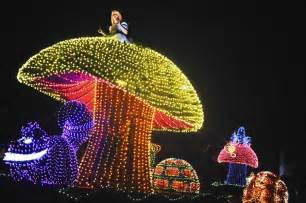disney lights disney revs parade with led lights for it s 60th