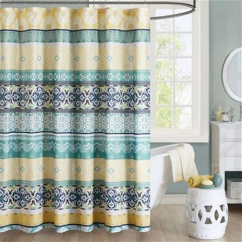 Teal And Yellow Curtains Teal And Yellow Shower Curtain Home Design Plan