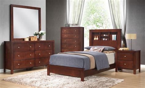 bedroom set with bookcase headboard glory furniture g2400 5 piece bookcase headboard bedroom