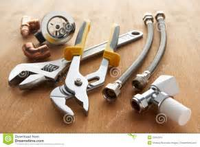 Bathtub Plumbing Repair Plumbing Tools And Materials Stock Images Image 22002514