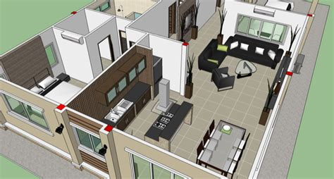 3 Bedroom House Interior Design Three Bedroom Design Stabygutt