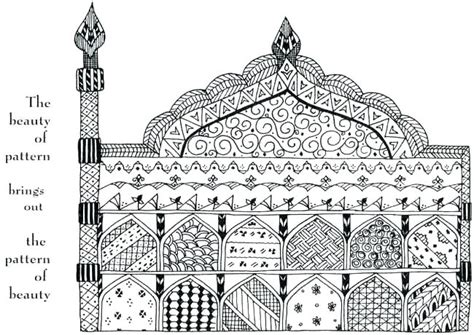 islamic mosaic coloring pages islamic art coloring pages chagarkennels com