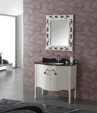transitional single sink bathroom vanity