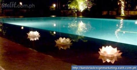 floating candles swimming pool pond and swimming pools on
