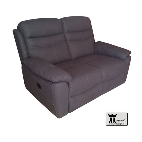 divano reclinabile divano relax manuale reclinabile tessuto della linea rr design