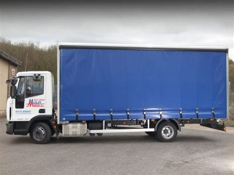 load security on curtain sided lorries maun motors self drive curtain side truck rental 7 5