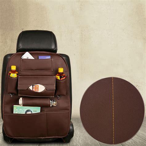 Car Set Organiser Multifungsi auto back car seat organizer holder multi pocket travel storage hanging bag bag baby