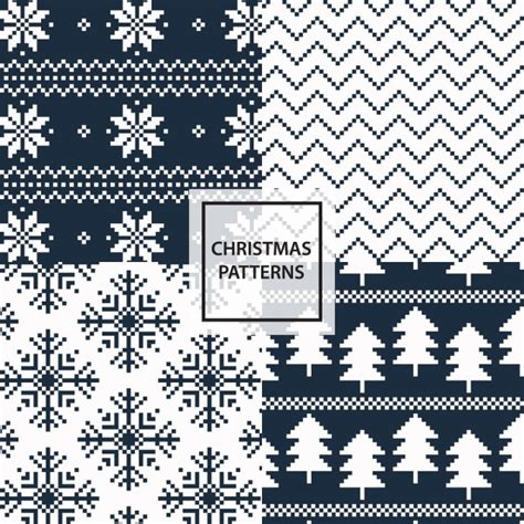 white xmas pattern black and white christmas patterns vector free download