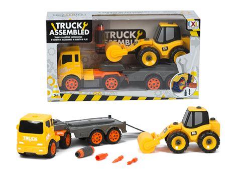 Take Apart Vehicles Derek take apart assembly construction vehicle play set truck
