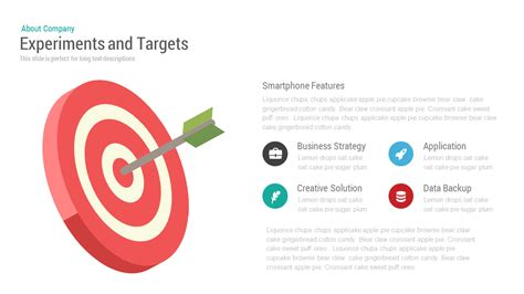 Experiments And Target Powerpoint Keynote Template Target Powerpoint Template