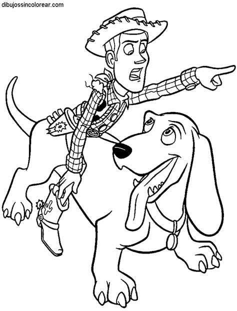 imagenes para colorear woody toy story dibujos de woody de toy story para colorear