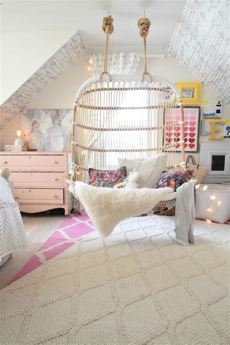 swing in kids room indoor swings for a charming home hipboulevard