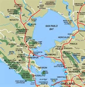 san pablo california map opinions on san pablo bay