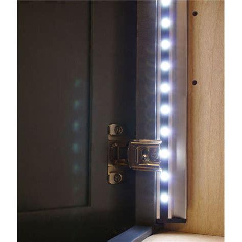 Tresco Cabinet Lighting cabinet lighting elli v 12v high output led lighting system by tresco by rev a shelf