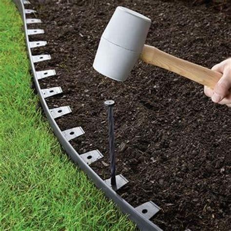 Vigoro Landscape Edging Pound In Vigoro 20 Ft Landscape Edging Kit 3001 20hd At The Home