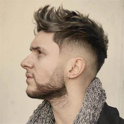 trendy hairstyles for men in their 20s mens haircuts short layered 20 faux hawk haircuts for