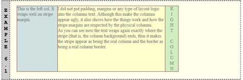 three column layout equal height relatively simple 3 equal height columns css liquid layout