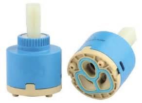 Monobloc Bath Shower Mixer plastic ceramic disc cartridge tap replacement valve 25 35