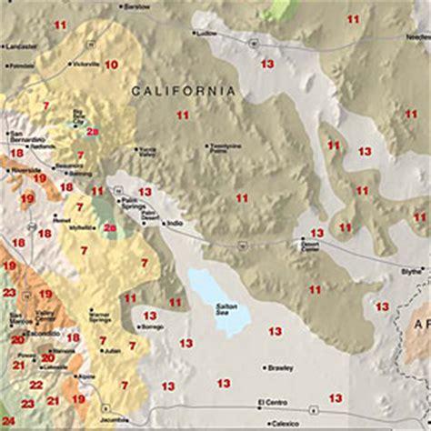 sunset garden zones sunset climate zones california desert sunset
