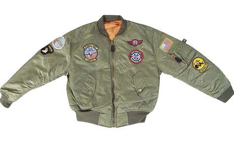 mens official top gun bomber jacket 80s army fancy dress costume us army flight jacket coat nj