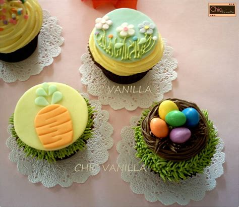 easter chic cupcakes cupcake ideas for you