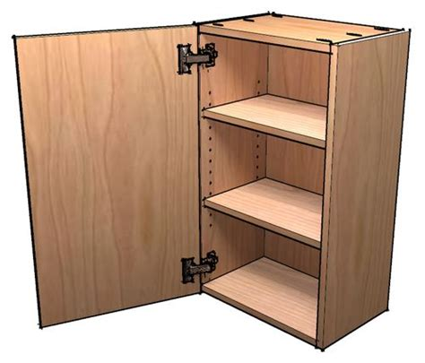 constructing kitchen cabinets how to build frameless wall cabinets for the wall near