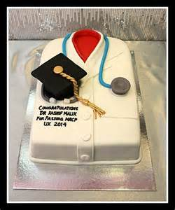 doctor graduation cake 2