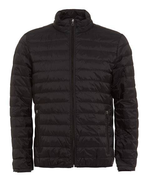 Lightweight Quilted Coats by Armani Quilted Coat Lightweight Black Puffa Jacket