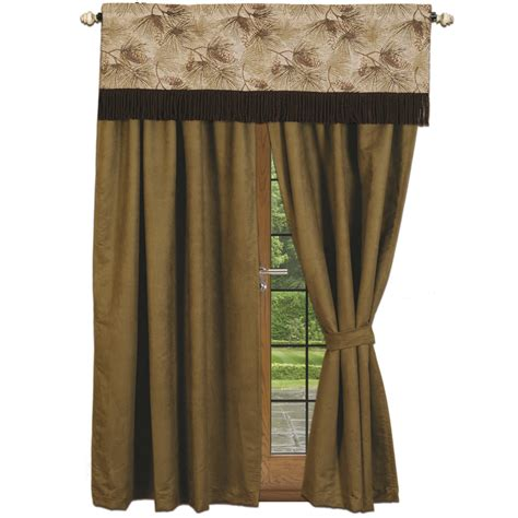 pine curtain pine forest curtains