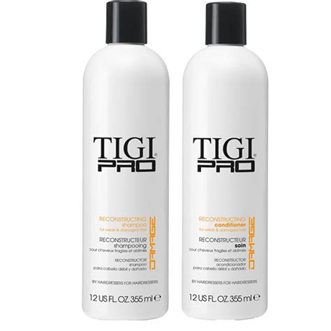 shoo and conditioner for colored hair tigi pro reconstructing shoo conditioner