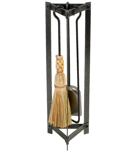 triangle fireplace tool set in fireplace screens and tools