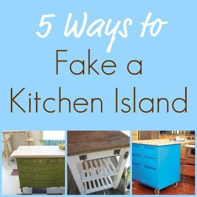 5 Ways To Fake A Kitchen Island Infarrantly Creative | 5 ways to fake a kitchen island infarrantly creative