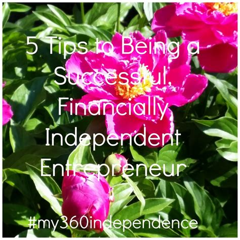 What Does A Dream About Winning Money Mean - 5 tips to being a successful financially independent entrepreneur
