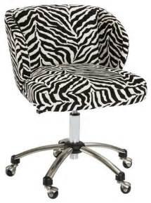 Office chair zebra print office chair furniture