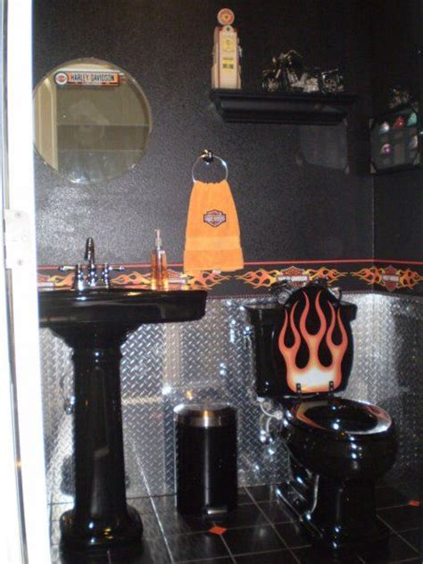 17 Best Images About Harley Davidson Stuff On Pinterest Motorcycle Bathroom Accessories