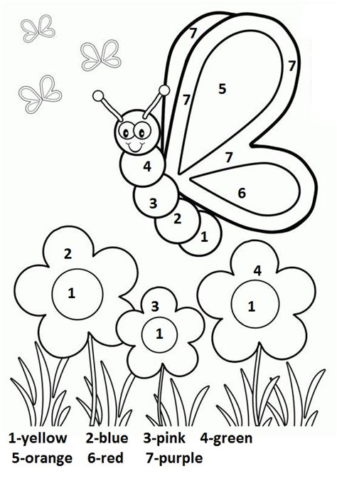 printable spring coloring pages for kindergarten crafts actvities and worksheets for preschool toddler and