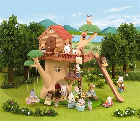 calico critters tree house calico critters adventure treehouse review calico critters