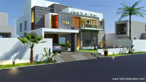 new home design 3d 3d front elevation com beautiful modern contemporary
