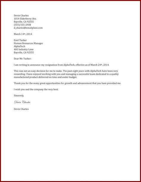 Resignation Letter 1 Month Notice Pdf How To Write One Month Notice Resignation Letter Cover